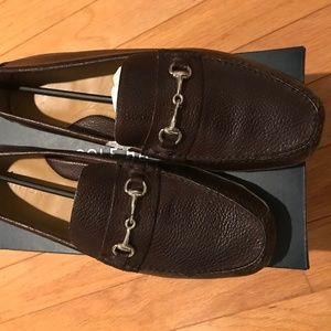 Cole Haan Grant Canoe Bit - Dark Brown - 12M
